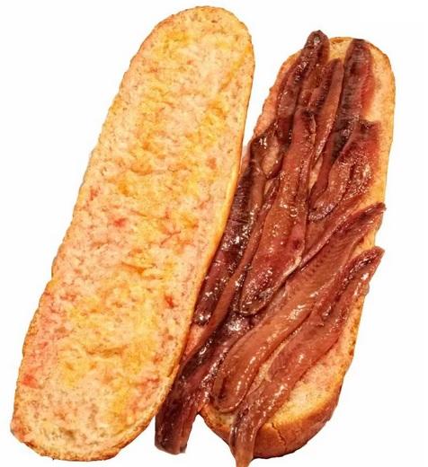 Anchovies sandwich