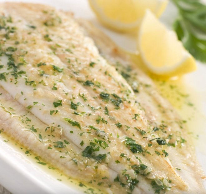 Grilled sole *