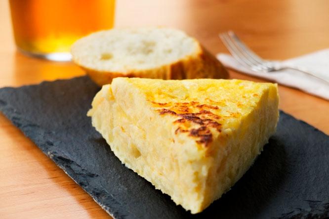 Pincho tortilla de patatas